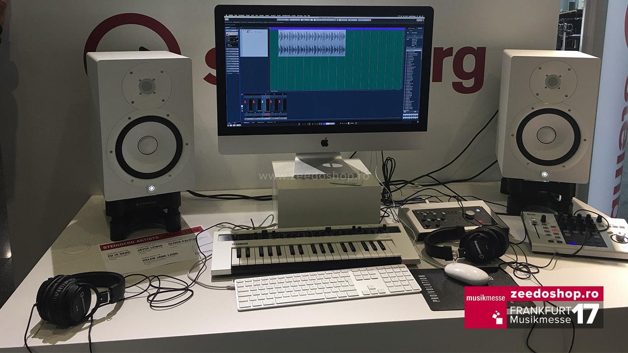 Musikmesse 2017 - Setup de studio Yamaha + Steinberg