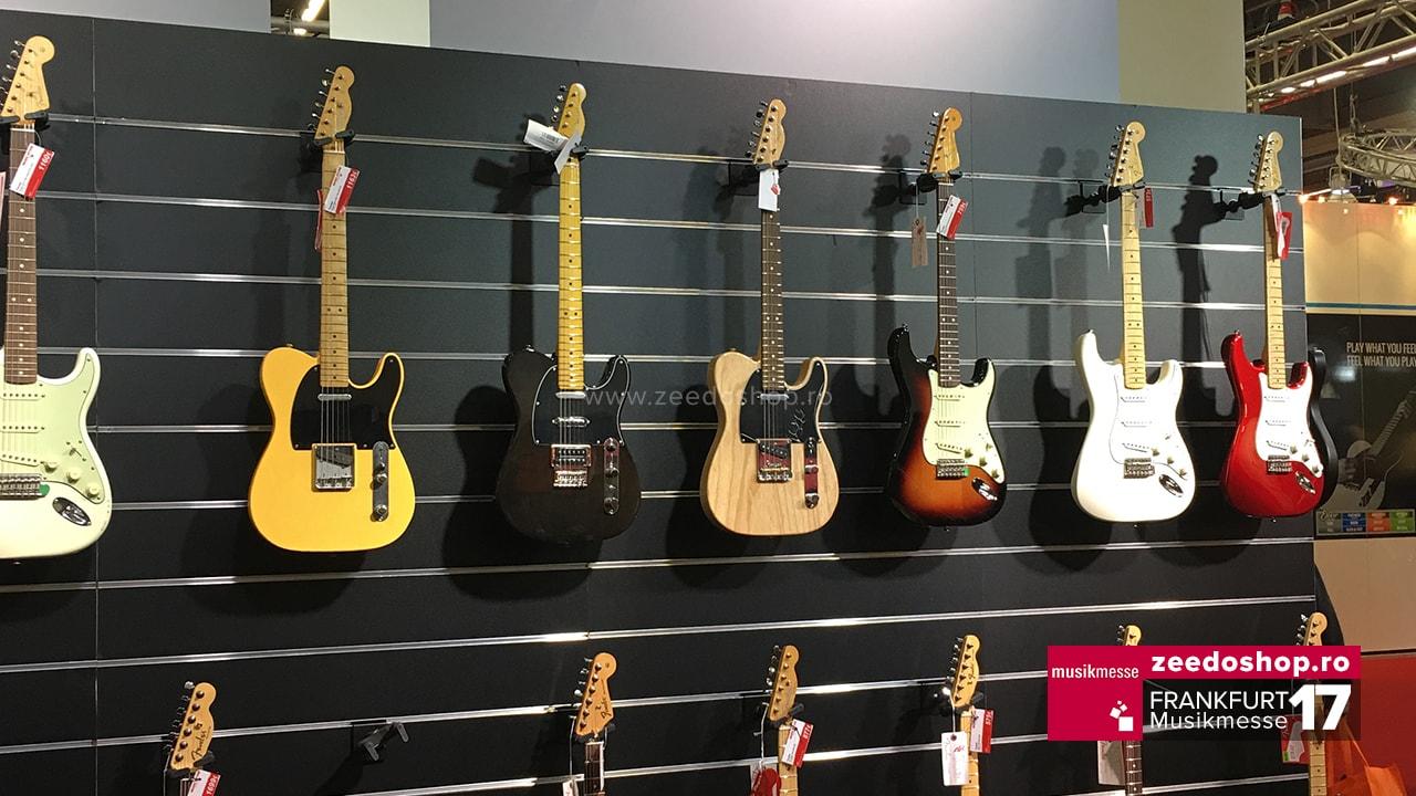 Frankfurt Musikmesse 2017 - Chitare Fender
