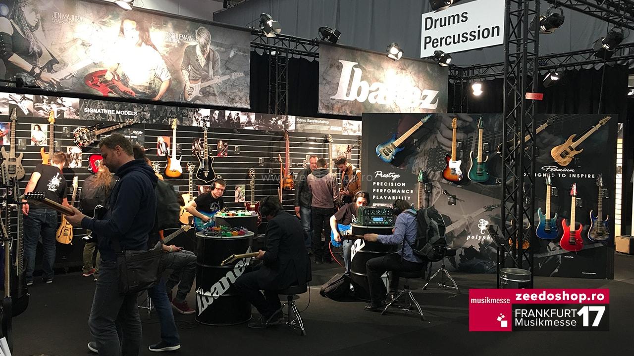 Frankfurt Musikmesse 2017 - Chitare Ibanez