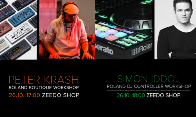 Workshop Roland Boutique si AIRA DJ in showroom-ul Zeedo, 26 Octombrie 2017