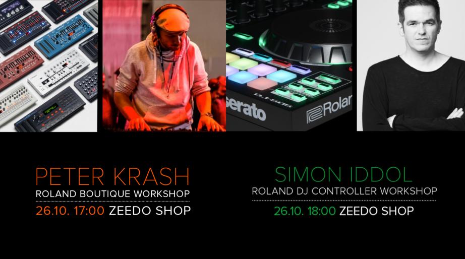 Workshop Roland Boutique si AIRA DJ in showroom-ul Zeedo, 26 Octombrie 2017