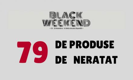 79 de produse de neratat din campania Black Weekend la Zeedo Shop