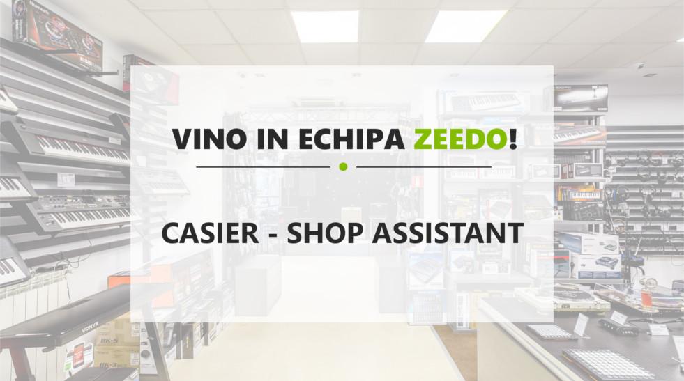 Casier – Front Office – Shop Assistant