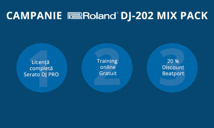 Promotie Roland DJ-202 Mixpack – Serato DJ Pro gratuit si alte beneficii