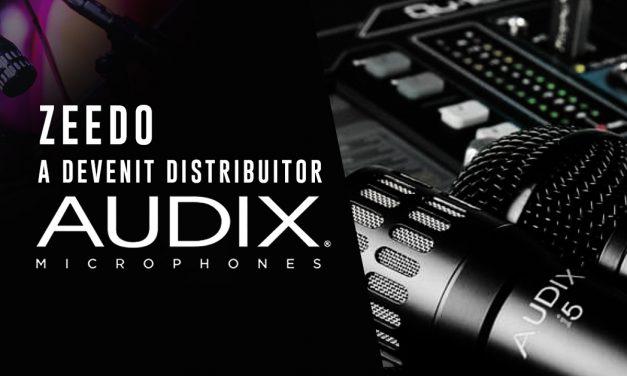 Audix Microphones in Romania, Exclusiv prin Zeedo!