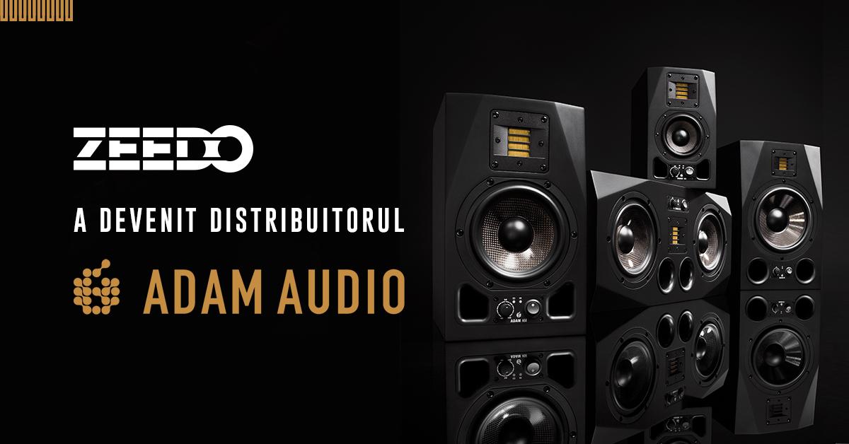 Zeedo Devine Distribuitorul Autorizat Adam Audio in Romania!