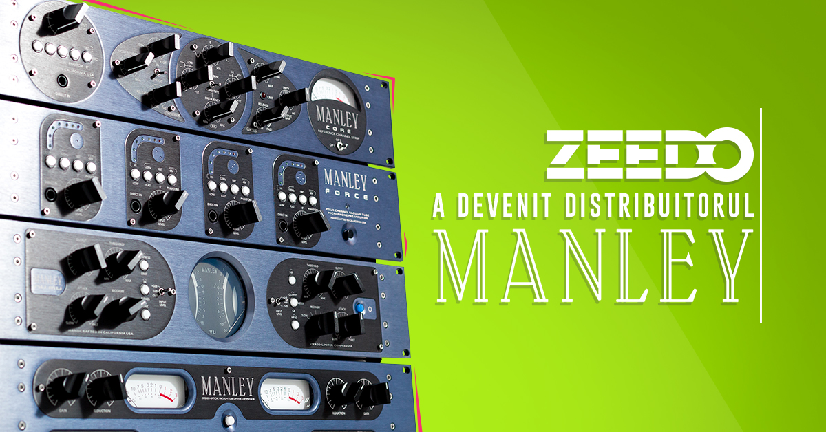 Manley direct din USA in Romania, exclusiv prin Zeedo!
