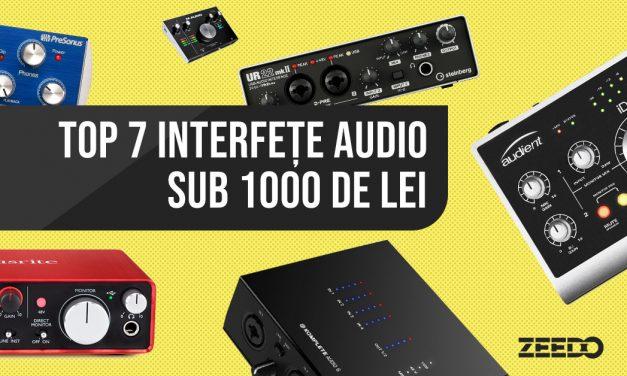 Top 7 interfete audio sub 1000 de lei (2019)