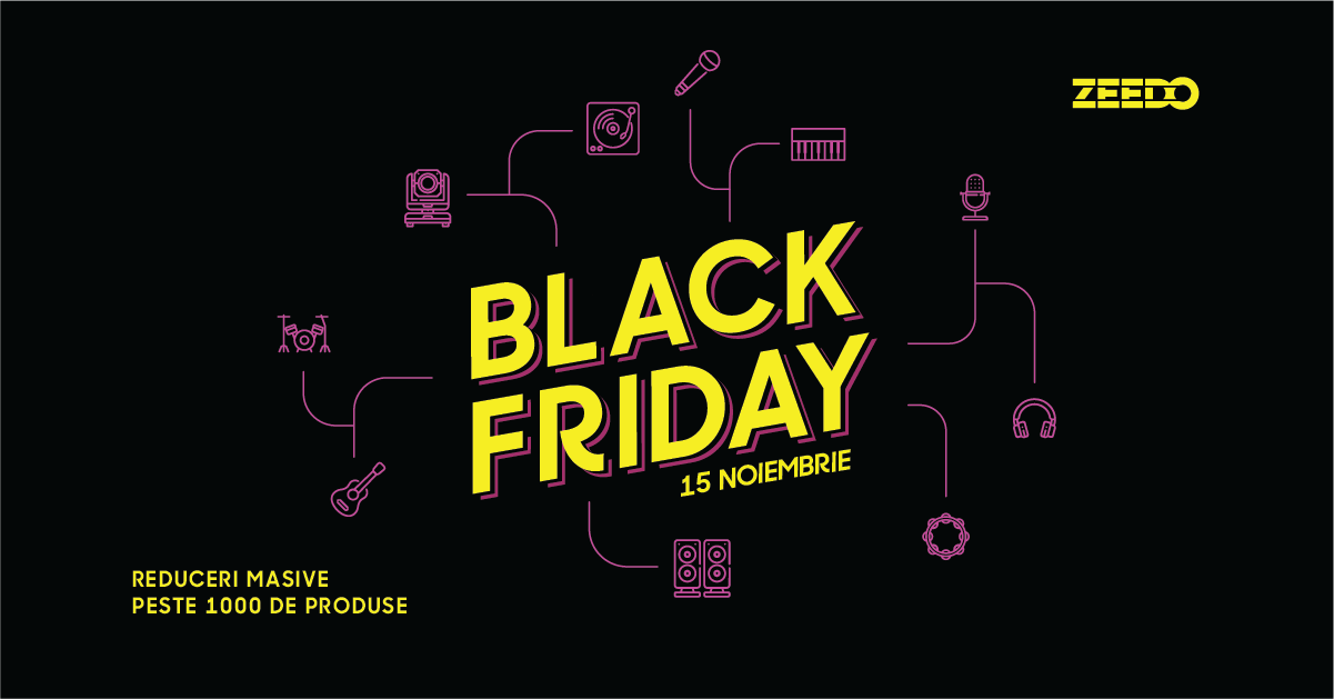 Black Friday 2019 la Zeedo Shop!