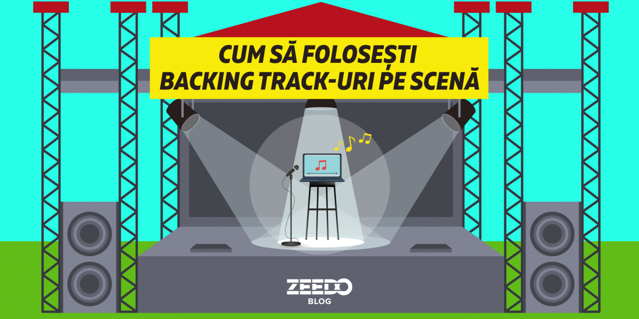 Cum sa folosesti backing track-uri pe scena