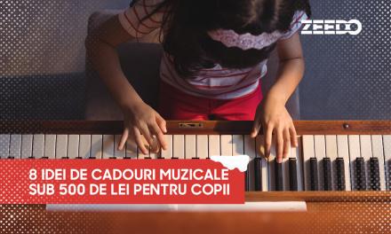 8 idei de cadouri muzicale sub 500 de lei pentru copii!