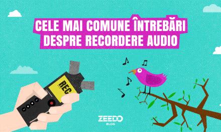 Cele mai comune intrebari despre recordere audio