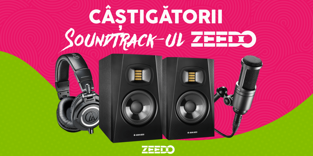 """Castigatorii concursului """"Cautam Soundtrack-ul Zeedo""""!"""