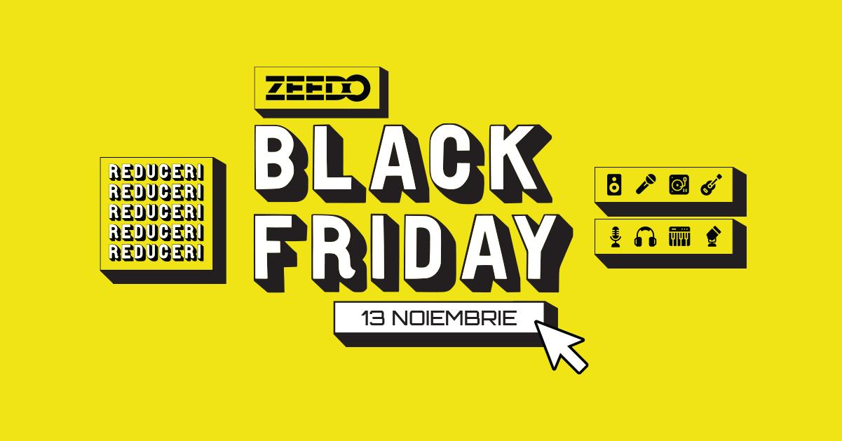 Black Friday 2020 la Zeedo Shop!