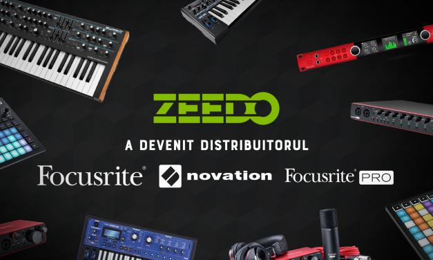 Zeedo Devine Distribuitorul Autorizat Focusrite si Novation in Romania!