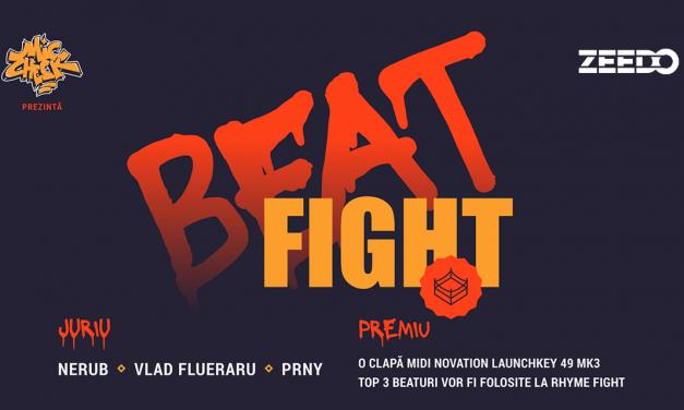 BEAT FIGHT#2 – Fii tare în BeatMaking și câștigă premiul ZEEDO SHOP